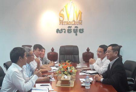 Petrolimex day manh hop tac thuong mai tai Campuchia - Anh 1