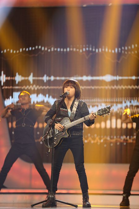 Cau be 12 tuoi la quan quan Vietnam Idol Kids 2017 - Anh 5