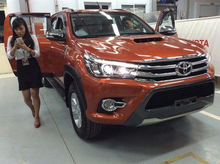Bang gia oto Toyota chinh hang moi nhat thang 8/2017 - Anh 1