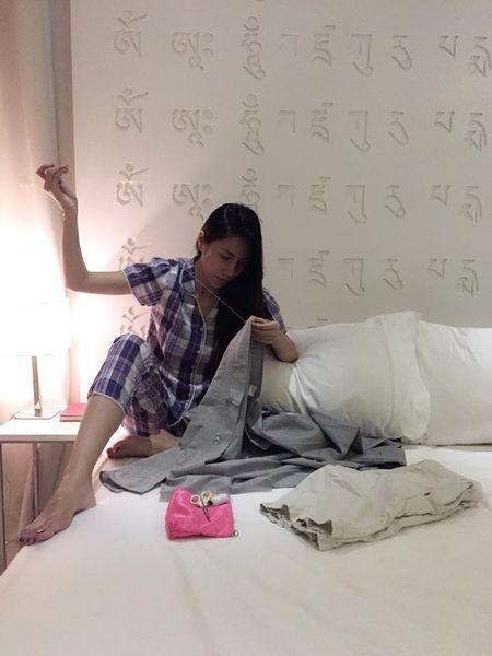 Noi tieng, giau co, khong ngo doi thuong Thuy Tien – Cong Vinh lai the nay - Anh 10