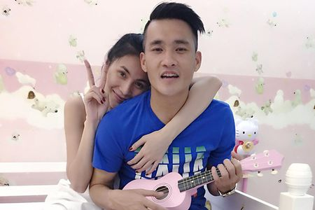 Noi tieng, giau co, khong ngo doi thuong Thuy Tien – Cong Vinh lai the nay - Anh 1