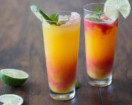 Huong dan cach pha che Mocktail cam dao - Anh 1