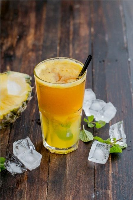 Huong dan cach pha che Mocktail chanh day - Anh 1