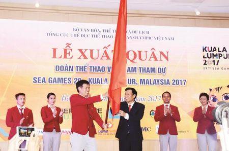 The thao Viet Nam len duong du SEA Games 29: Hay quen Top 3 di - Anh 1
