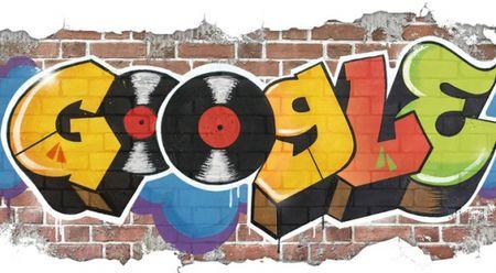 Google thiet ke Doodle ky niem 44 nam Hip-hop ra doi - Anh 1