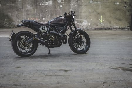 Ducati Scrambler do Cafe Racer cuc chat - Anh 14