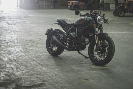 Ducati Scrambler do Cafe Racer cuc chat - Anh 15