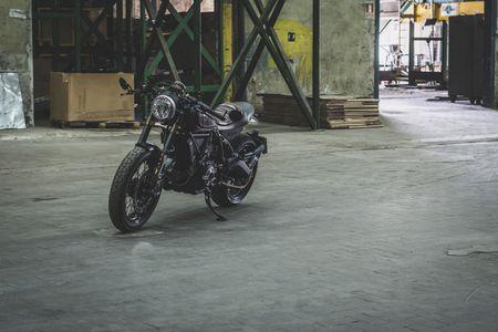 Ducati Scrambler do Cafe Racer cuc chat - Anh 18
