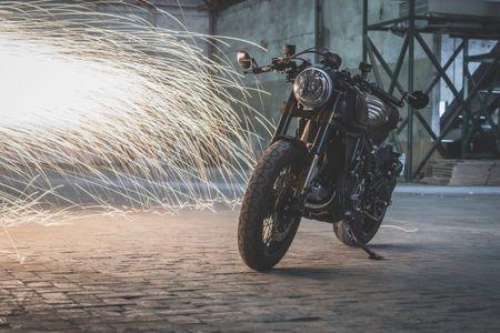 Ducati Scrambler do Cafe Racer cuc chat - Anh 4