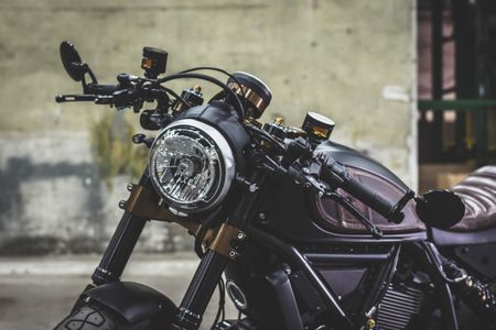 Ducati Scrambler do Cafe Racer cuc chat - Anh 7