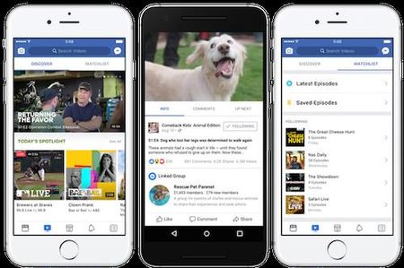 Facebook Watch tham vong lat do YouTube - Anh 2