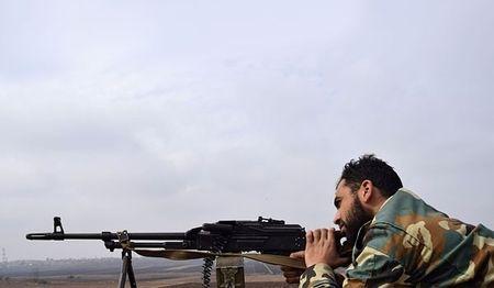 Quan doi Syria phan don, pha am muu tan cong cua IS o Dong Homs - Anh 1