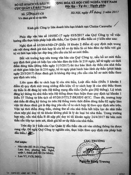 """""""Khuat tat"""" trong dau thau sua chua khach san Caravelle - Anh 3"""