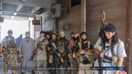 IS tu chien tren tung met dat tai sao huyet Raqqa - Anh 2