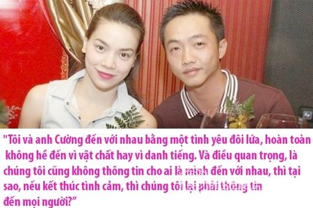 Nhung phat ngon soc sau chia tay chi co the la cua Ho Ngoc Ha va Cuong Do la - Anh 1