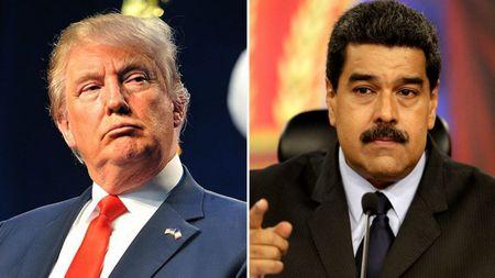 Trump de doa Venezuela bang 'bien phap quan su' - Anh 1