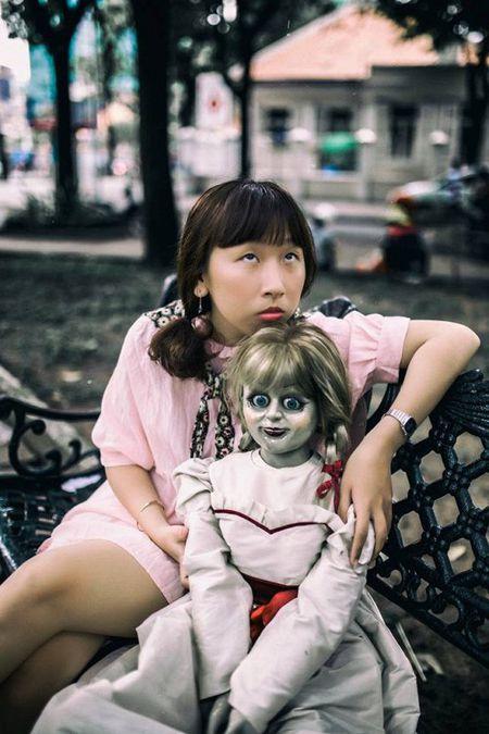 Khong the nhin cuoi khi nhin nhung hinh anh Trang Hy 'Annabelle di khap the gian' - Anh 3