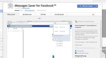 Huong dan xem lai tin nhan tren Facebook Messenger khong can keo chuot moi tay - Anh 1