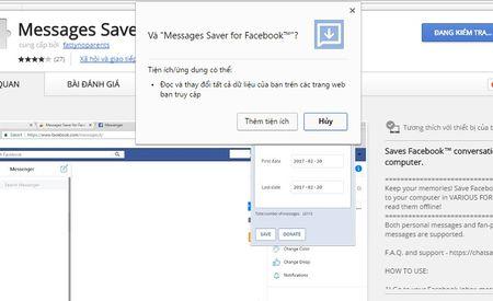 Huong dan xem lai tin nhan tren Facebook Messenger khong can keo chuot moi tay - Anh 2