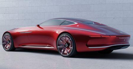 Mercedes-Benz tung hinh anh phien ban Vision Mercedes-Maybach 6 - Anh 1
