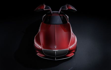 Mercedes-Benz tung hinh anh phien ban Vision Mercedes-Maybach 6 - Anh 2