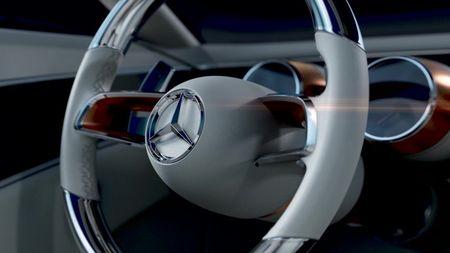 Mercedes-Benz tung hinh anh phien ban Vision Mercedes-Maybach 6 - Anh 3