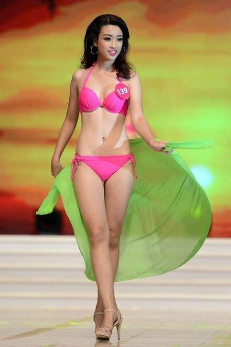 'Bong mat' vi Do My Linh mac bikini thi Hoa hau The gioi 2017 - Anh 6