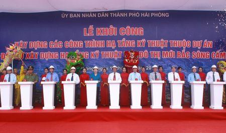 """Hai Phong khoi cong """"sieu"""" du an 10.000 ti dong - Anh 1"""