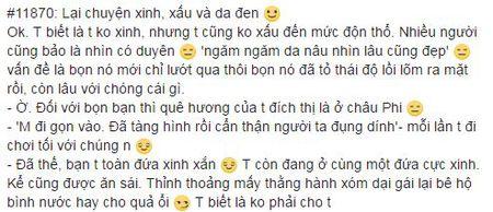 Tam su chanh long cua nu sinh 'ngam ngam da nau' ve dan ong yeu bang mat khien bao nguoi dong cam - Anh 1
