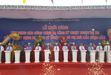 Hai Phong khoi cong 'sieu' do thi gan 10.000 ty dong - Anh 1