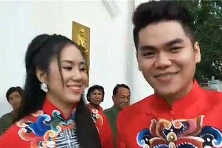Le Phuong rang ngoi trong le cuoi tai que chong - Anh 1