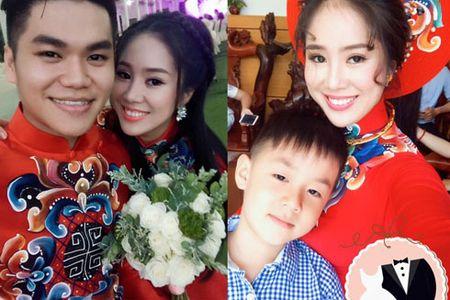 Le Phuong rang ngoi trong le cuoi tai que chong - Anh 4