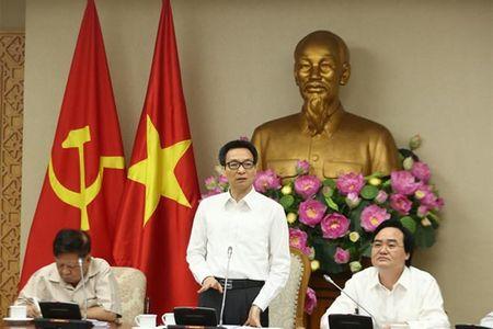 Pho Thu tuong Vu Duc Dam yeu cau 'dat hang' trong dao tao su pham - Anh 1