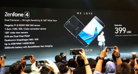 ASUS cong bo 6 smartphone the he ZenFone 4 Series - Anh 4
