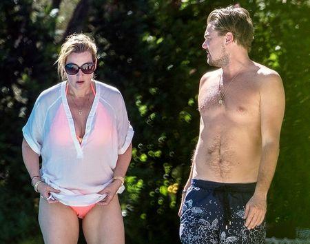 Loat anh hen ho be boi cua Kate Winslet va Leonardo DiCaprio - Anh 3
