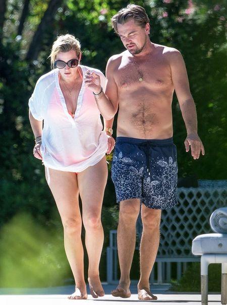 Loat anh hen ho be boi cua Kate Winslet va Leonardo DiCaprio - Anh 8