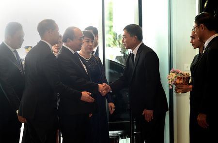 Thu tuong Nguyen Xuan Phuc den Bangkok tham chinh thuc Thai Lan - Anh 1