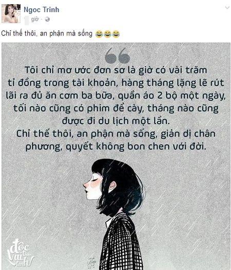 Mo uoc tram ty, Ngoc Trinh nhan kheo ban trai? - Anh 1