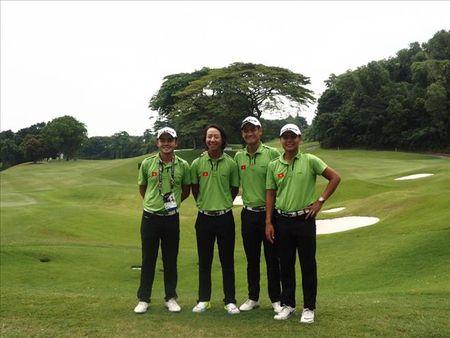 Doi tuyen Golf Viet Nam som chia tay SEA Games 29 - Anh 1