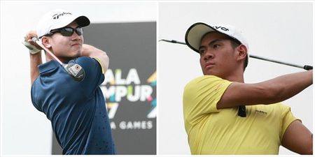 Doi tuyen Golf Viet Nam som chia tay SEA Games 29 - Anh 2
