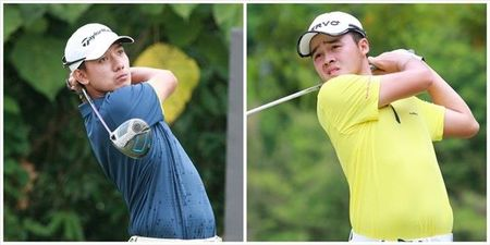 Doi tuyen Golf Viet Nam som chia tay SEA Games 29 - Anh 3
