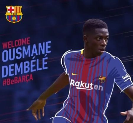CHINH THUC: Barcelona chieu mo thanh cong Ousmane Dembele - Anh 1