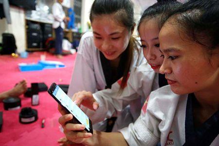 Nhung chien binh Taekwondo Viet Nam truoc gio G - Anh 2