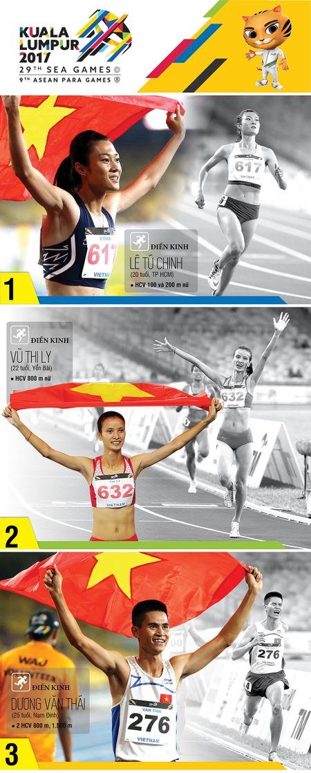 Rang danh Viet Nam tai dau truong SEA Games 29 - Anh 1