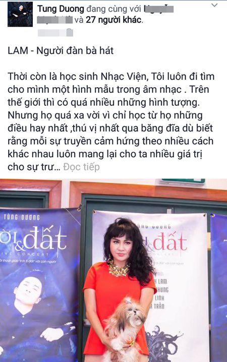 He lo chan dung nguoi phu nu duoc Tung Duong tran quy nhat showbiz? - Anh 1
