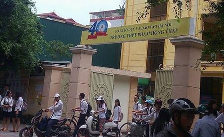 Chuyen buon o Pham Hong Thai, ngoi truong co be day truyen thong o Thu do - Anh 1
