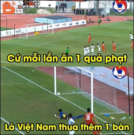 Anh che U22 Viet Nam bi loai khoi SEA Games 29 ngap tran mang xa hoi - Anh 5