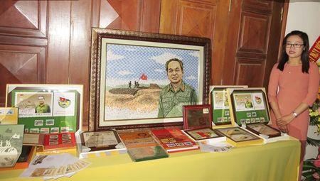 Chinh thuc phat hanh bo tem ve Dai tuong Vo Nguyen Giap - Anh 1