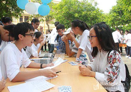 'Sot' cung Clubs Fair cua hoc sinh truong Phan - Anh 5