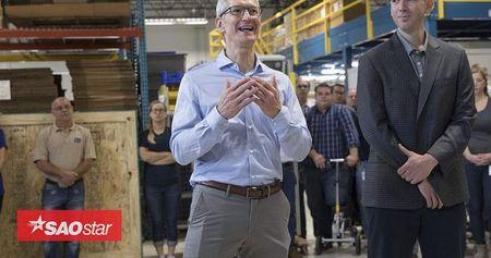 iPhone 8 de lo 'bong dang' trong tui quan CEO Tim Cook cua Apple? - Anh 1